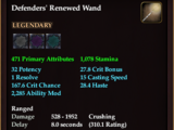 Defenders' Renewed Wand
