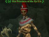 Rin Priestess of the Fyr'Un
