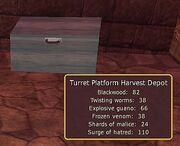 Turret Platform Harvest Depot