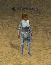 A Dervish thug