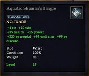 Aquatic Shaman's Bangle