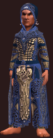 Focused Mind Robe (Equipped)