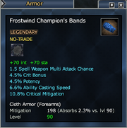 Frostwind Champion's Bands