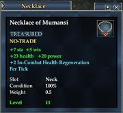 Necklace of Mumansi