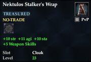 Nektulos Stalker's Wrap