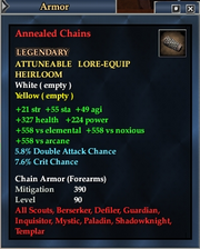 Annealed Chains