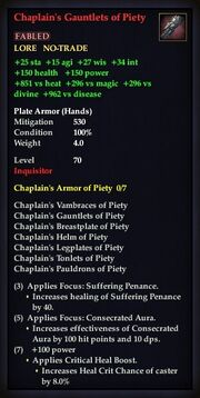 Chaplain's Gauntlets of Piety