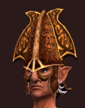 Elysian Coif of the Animist (Equipped)