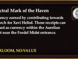 Spectral Mark of the Haven