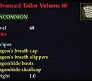 Advanced Tailor Volume 60