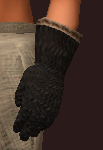 Black ebon chainmail gloves (Equipped)
