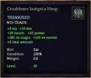Crushbone Insignia Hoop