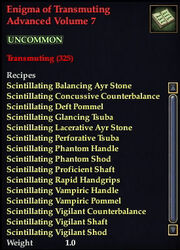 Enigma of Transmuting Advanced Volume 7