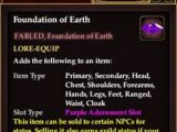 Foundation of Earth