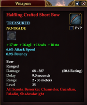 Halfling Crafted Short Bow