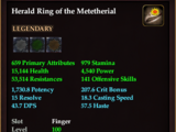 Herald Ring of the Metetherial