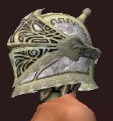Skirmisher's Blackened Iron Helmet (Equipped)