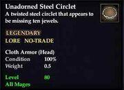 Unadorned Steel Circlet