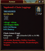 Vagabond's Chain Leggings