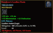 Wanderer's Leather Pants
