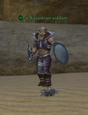 A Rujarkian soldier