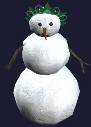 Cheerless Snowwoman (Visible)