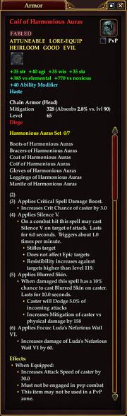Coif of Harmonious Auras