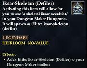 Iksar-Skeleton (Defiler)