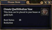 Ornate Quellithulian Vase