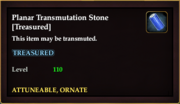 Planar Transmutation Stone -Treasured-