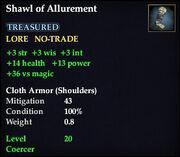 Shawl of Allurement
