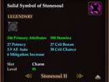 Solid Symbol of Stonesoul