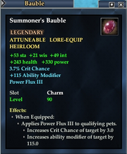 Summoner's Bauble