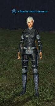 A Blackshield assassin (human)
