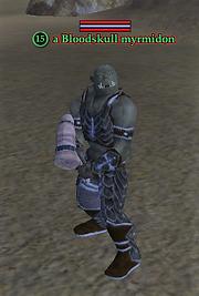 A Bloodskull myrmidon