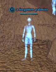 A forgotten palmist