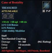 Cane of Brutality