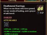 Deathmend Earrings