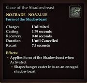 Gaze of the Shadowbeast