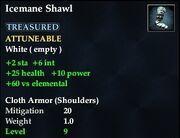 Icemane Shawl