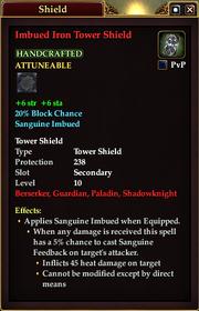 Imbued Iron Tower Shield