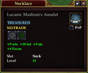 Lucanic Medium's Amulet