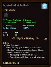 Mystical Orb of the Healer