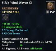 Sifu's Wind Woven Gi