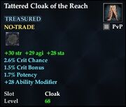 Tattered Cloak of the Reach