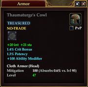 Thaumaturge's Cowl