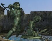 The Fountain of the Fallen Soldier