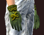 Vesspyr Scholar's Green Gloves (Equipped)
