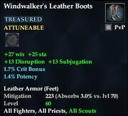 Windwalker's Leather Boots