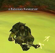 A Bubonian Runecarver
